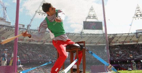 Photo of Bahlaz offre à l'Algérie la première médaille d'or