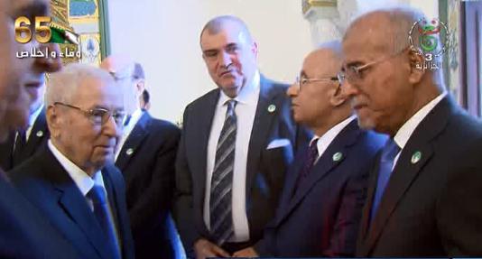 Photo of حفل استقبال بقصر الشعب بمناسبة احياء الذكرى الـ65 لاندلاع الثورة التحريرية