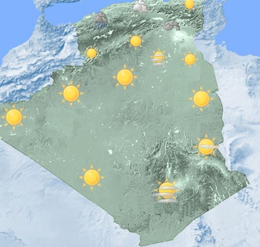 Photo of أمطار غزيرة مصحوبة أحيانا برعود منتظرة بوسط و غرب الوطن