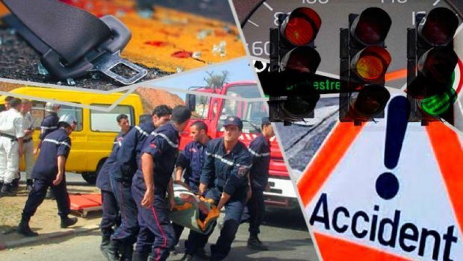 Photo of Accidents de la route : 38 morts et 954 blessés en une semaine