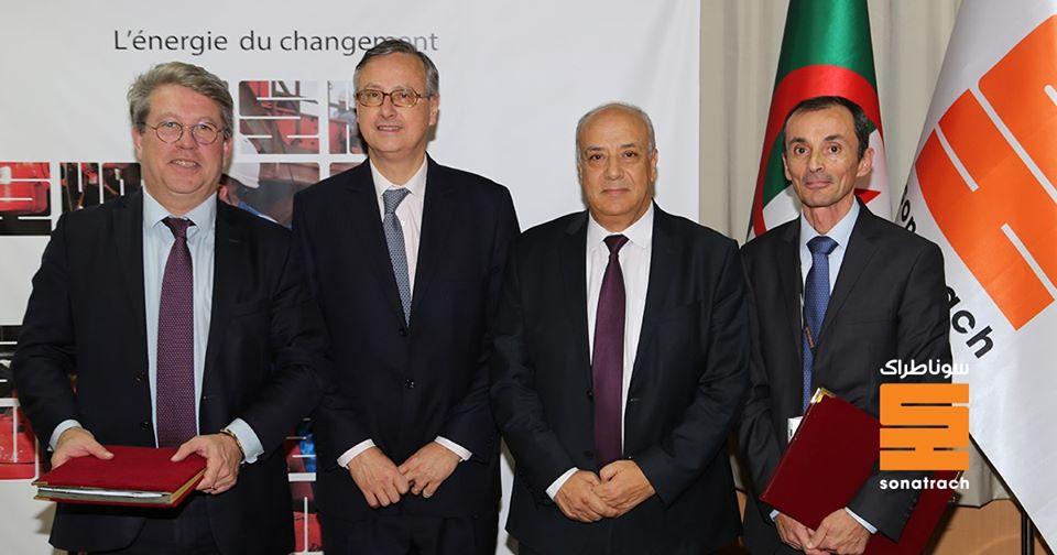 Photo of Signature d'accords d'approvisionnement en GNL et gaz entre SONATRACH et ENGIE