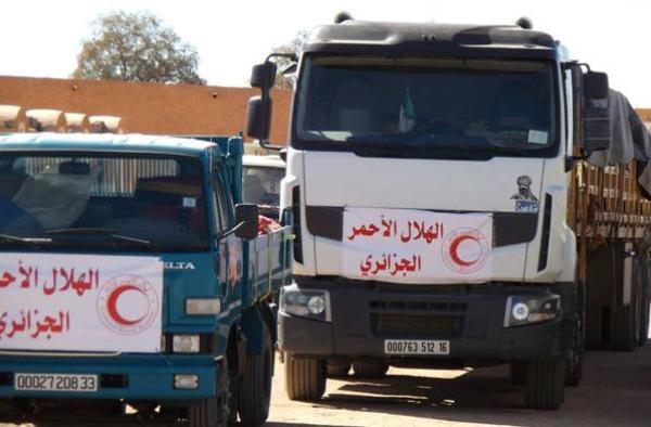 Photo of Le Croissant-Rouge algérien achemine 100 tonnes d'aides humanitaires vers la Libye