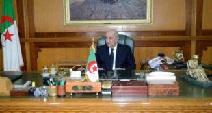 الرئيس تبون يترأس جلسة عمل بمقر وزارة الدفاع الوطني