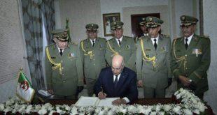 الرئيس تبون يؤكد ضرورة تطوير قدرات الجيش في ظل التحديات الأمنية في دول الجوار