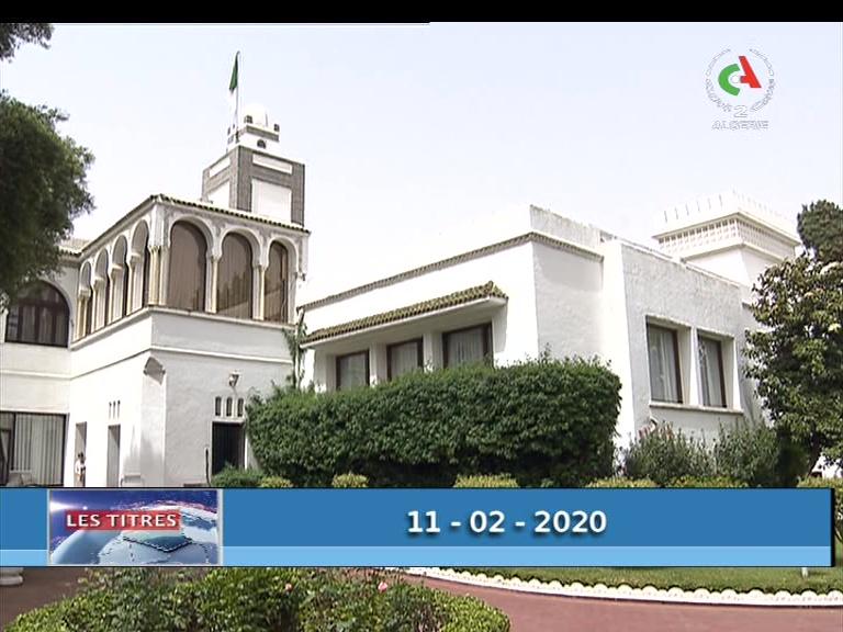 Photo of نشرة السابعة ليوم 11-02-2020