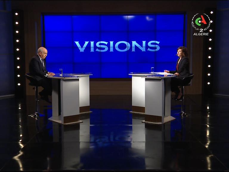 Photo of Visions reçoit  Abdelaziz Rehabi sur Canal Algérie