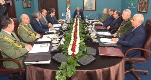 رئيس الجمهورية يترأس اجتماعا للمجلس الأعلى للأمن
