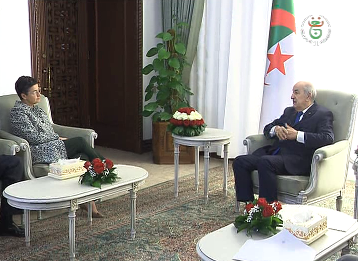 Photo of الرئيس تبون يستقبل وزيرة الشؤون الخارجية الاسبانية