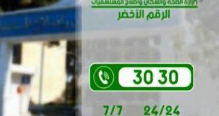 كوفيد -19:  الجزائر تسجل 45  حالة إصابة جديدة مؤكدة من بينها ثلاث وفيات
