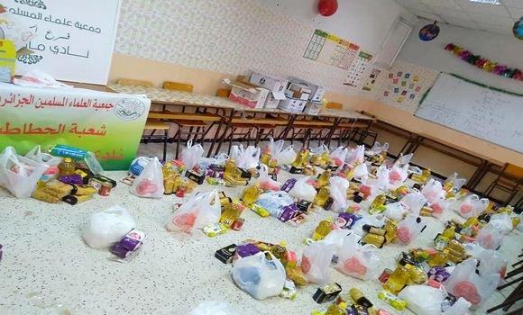Photo of Blida: l'Association des oulémas musulmans algériens fait don de 20 t de produits alimentaires