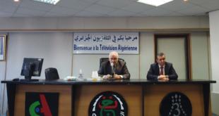 تثمين مجهودات الفرق التقنية لمؤسستي التلفزيون الجزائري والبث الإذاعي و التلفزي على عملهم المتميز