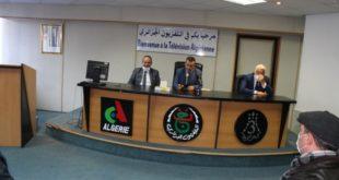المدير العام للتلفزيون الجزائري يثمن مجهودات فرق التصوير المتنقلة