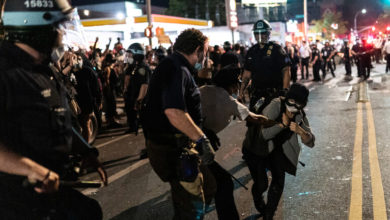 Photo of توسع الإحتجاجات بولايات أميركية وترامب يهدد بتدخل سريع للجيش