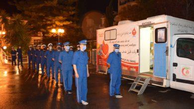 Photo of حملة وطنية للتبرع بالدم في صفوف أفراد الأمن الوطني