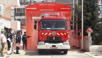 Photo of مستغانم: نفق لتعقيم آليات الحماية المدنية