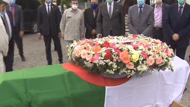 Photo of Le moudjahid Omar Boudaoud inhumé au cimetière d'El-Alia