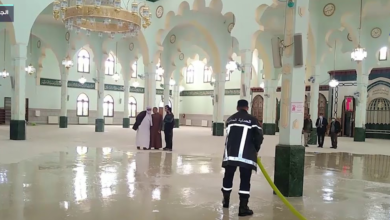 Photo of حملة تعقيم المساجد تمسّ 360 مسجدًا بولاية البليدة