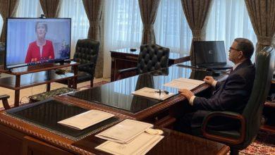 """Photo of الوزير الأول يدعو إلى تخفيف ديون الدول النامية لتجاوز الصعوبات الاقتصادية الناجمة عن فيروس""""كورونا"""""""