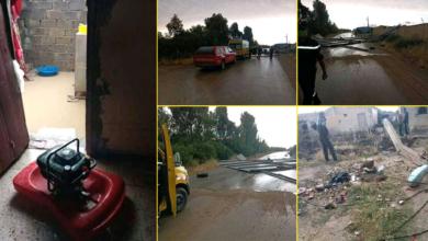 Photo of تدخلات الحماية المدنية لولاية تبسة بسبب سوء الأحوال الجوية