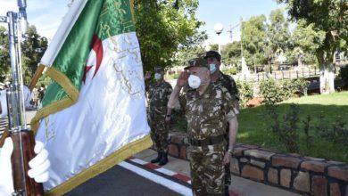 Photo of اللواء شنقريحة في زيارة عمل وتفتيش إلى الناحية العسكرية الثانية بوهران