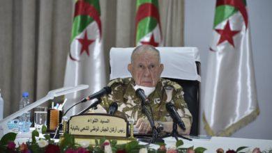 "Photo of اللواء شنقريحة يشدد على ""بذل قصارى الجهود لإفشال كل المحاولات المعادية للجزائر"""