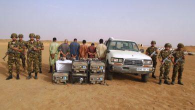 Photo of مكافحة التهريب: توقيف 7 أشخاص ببرج باجي مختار