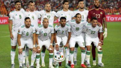 Photo of Classement de la Fifa : l'Algérie toujours à la 35e position