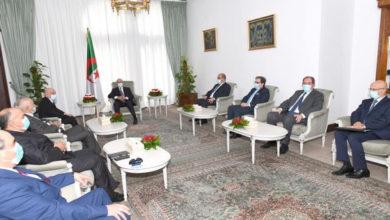 Photo of Tebboune reçoit le président de la Chambre libyenne des députés
