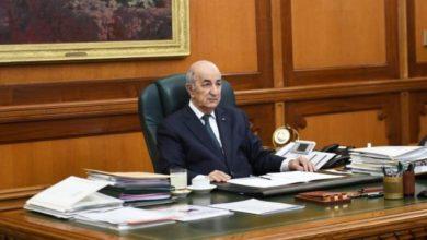 Photo of Le Président Tebboune reçoit un appel téléphonique de la Présidente éthiopienne