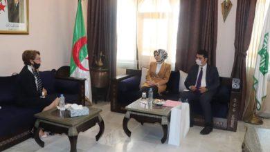 Photo of وزيرة الثقافة تستقبل سفيرة تركيا بالجزائر