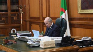 Photo of رئيس الجمهورية يصدر مرسوما يتضمن إجراءات العفو تفضي إلى الإفراج فورا عن حوالي 4700 محبوس