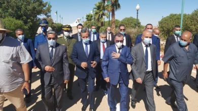 Photo of وزير الصحة عبد الرحمن بن بوزيد في زيارة إلى ولاية الأغواط