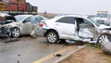 Photo of حوادث المرور: وفاة 13 شخصا وإصابة 286 آخرين بجروح خلال أسبوع على مستوى المناطق الحضرية