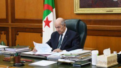 Photo of رئيس الجمهورية يترأس اليوم الأحد مجلسا للوزراء