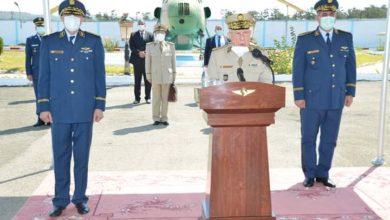 Photo of الفريق السعيد شنقريحة ينصب اللواء محمود لعرابة قائدا للقوات الجوية