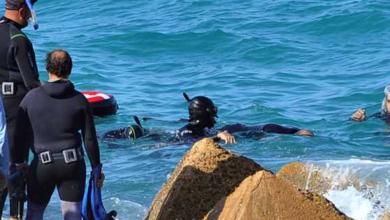 Photo of وهران: انتشال جثة غريق بمنطقة صخرية بكناستيل