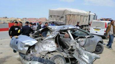 Photo of حوادث المرور: وفاة 10 أشخاص وإصابة 357 آخرين خلال 48 ساعة الأخيرة