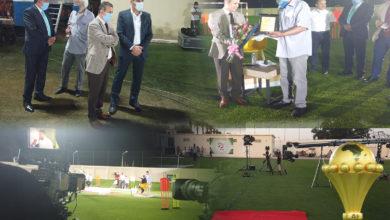 """Photo of الإتحاد الجزائري لكرة القدم يشكر و يثمن مبادرة التلفزيون نظير تغطيته الإعلامية """"المتميزة """""""
