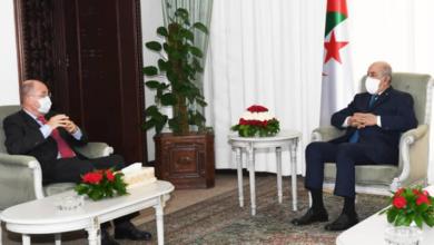 Photo of Le Président de la république reçoit l'ambassadeur français en Algérie