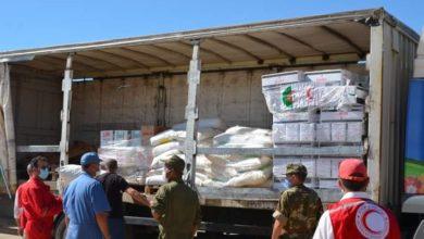 Photo of الجزائر ترسل شحنة من المساعدات الإنسانية لفائدة الشعب الصحراوي