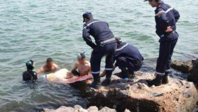 Photo of عين تموشنت: انتشال جثة غريق بعرض البحر