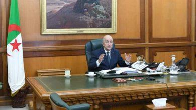 Photo of رئيس الجمهورية يترأس غدا الإثنين إجتماعا للمجلس الأعلى للأمن