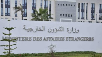 Photo of الناطق الرسمي باسم وزارة الخارجية: إصابة جزائريين اثنين بجروح طفيفة إثر إنفجار بيروت