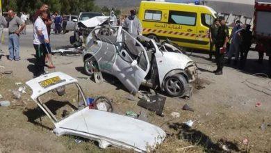 Photo of حوادث المرور: وفاة 32 شخصا وإصابة 1462 آخرين خلال الاسبوع المنصرم