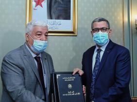 Photo of Le premier ministre reçoit le président du Conseil national des droits de l'Homme