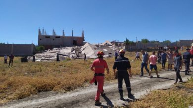 Photo of وصول 12 شاحنة محملة بمساعدات إلى ميلة موجهة للمتضررين من الزلزال
