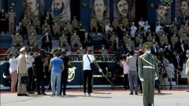 Photo of تسمية الدفعات المتخرجة بالأكاديمية العسكرية لشرشال باسم المجاهد الراحل عبد المالك قنايزية