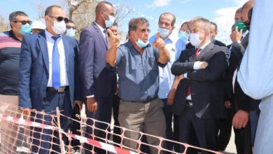 Photo of وزيرا الموارد المائية والتضامن الوطني في زيارة عمل الى 3 ولايات بالجنوب