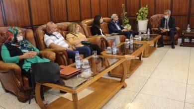 Photo of وزير الصحة يستقبل وفدا من الشبكة الوطنية للجمعيات و ممثلي مرضى السرطان