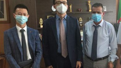 Photo of المدير العام للتلفزيون الجزائري يستقبل مسؤول شركة هواوي بالجزائر